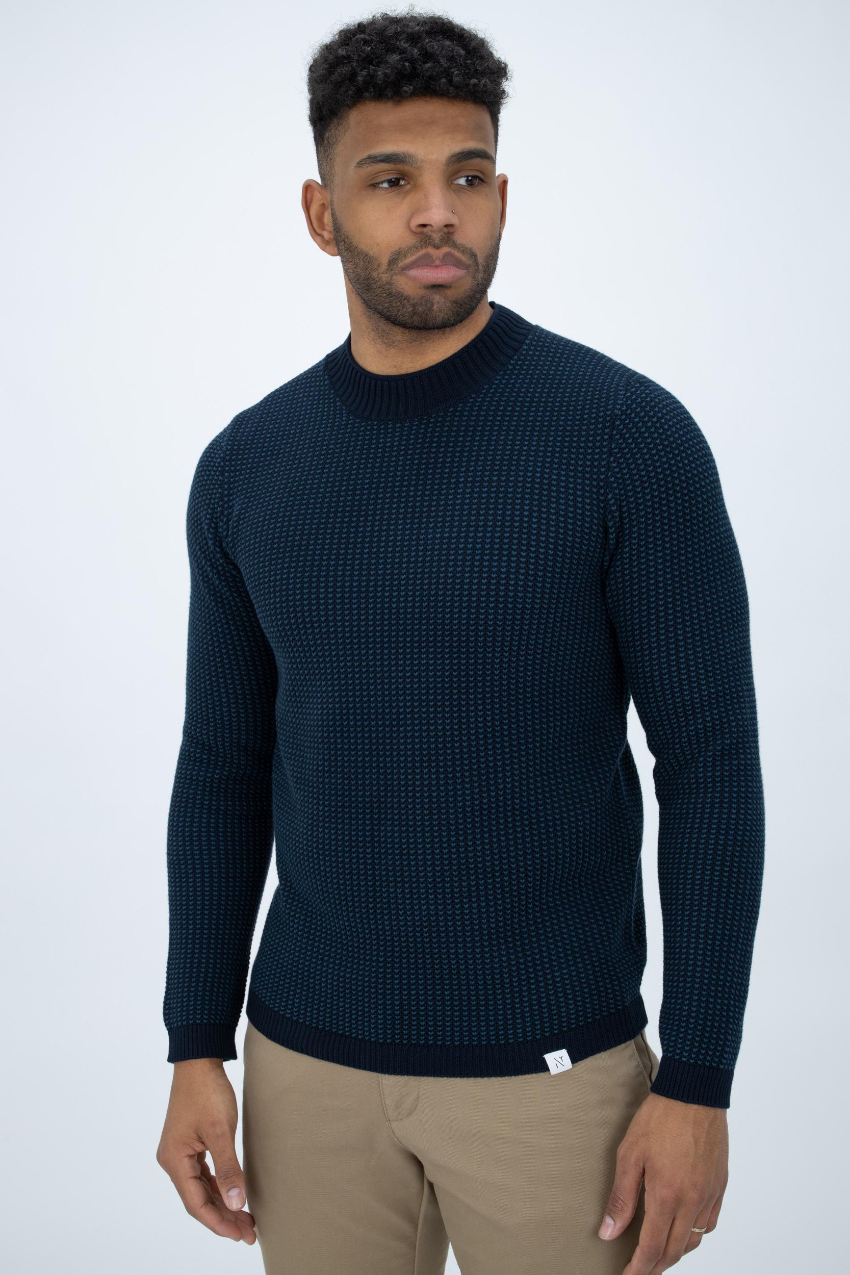 Pullover Zweifarbig